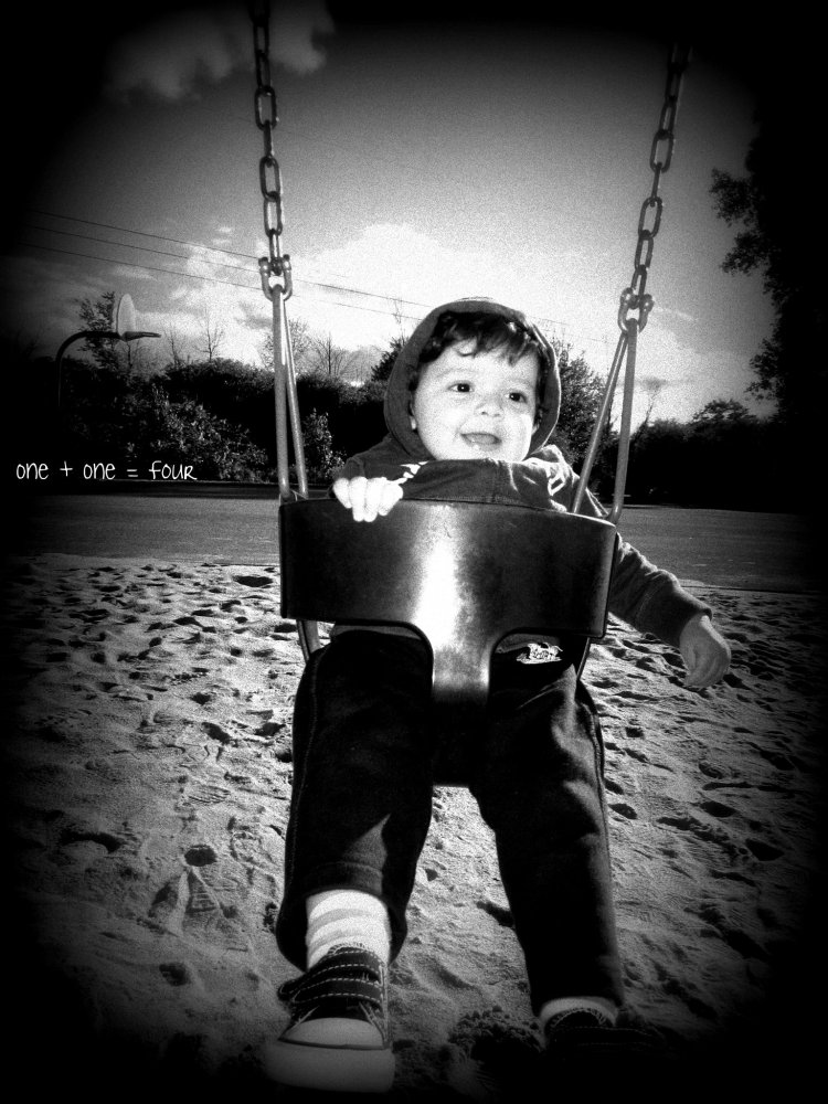 Wordless Wednesday #4: Happiness on a Swing